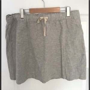 Patagonia mini skirt.